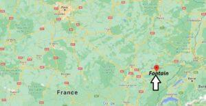 Où se trouve Fontain