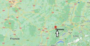 Où se trouve Gennes