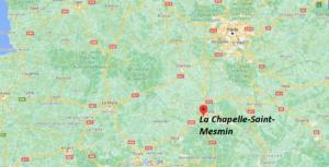 Où se trouve La Chapelle-Saint-Mesmin