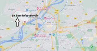 Où se trouve Le Ban-Saint-Martin