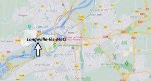 Où se trouve Longeville-lès-Metz