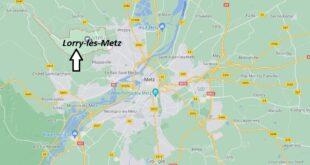 Où se trouve Lorry-lès-Metz