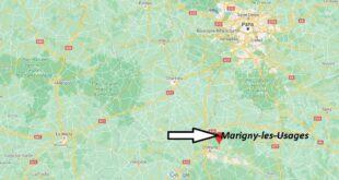Où se trouve Marigny-les-Usages