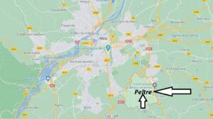 Où se trouve Peltre