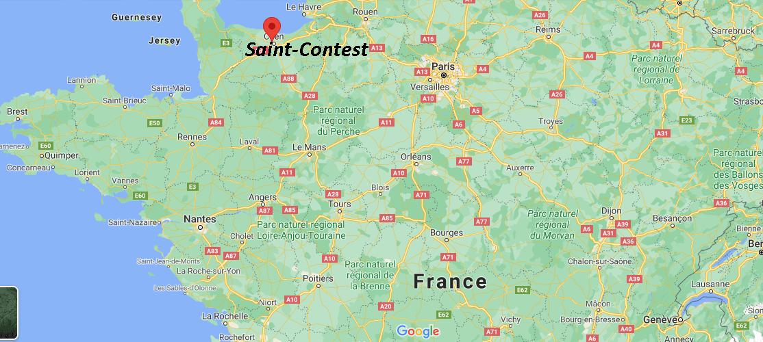 Où se trouve Saint-Contest