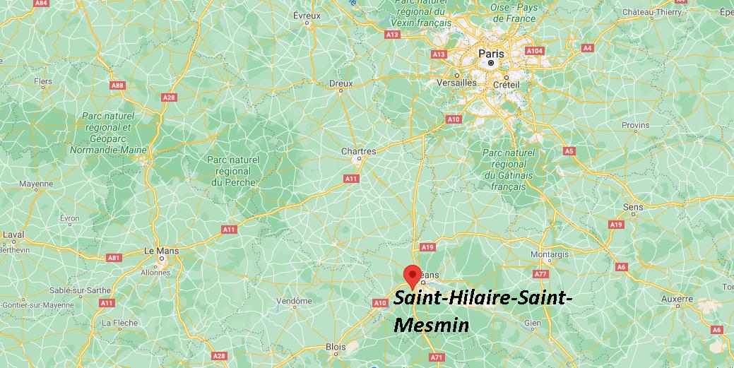 Où se trouve Saint-Hilaire-Saint-Mesmin