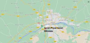 Où se trouve Saint-Pryvé-Saint-Mesmin