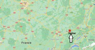 Où se trouve Saône