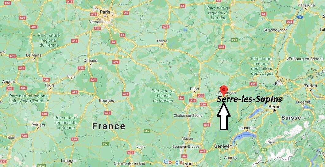 Où se trouve Serre-les-Sapins