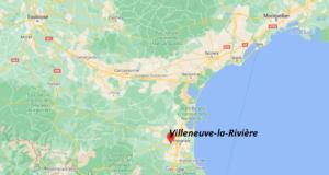 Où se trouve Villeneuve-la-Rivière