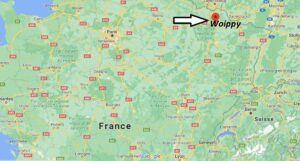 Où se trouve Woippy