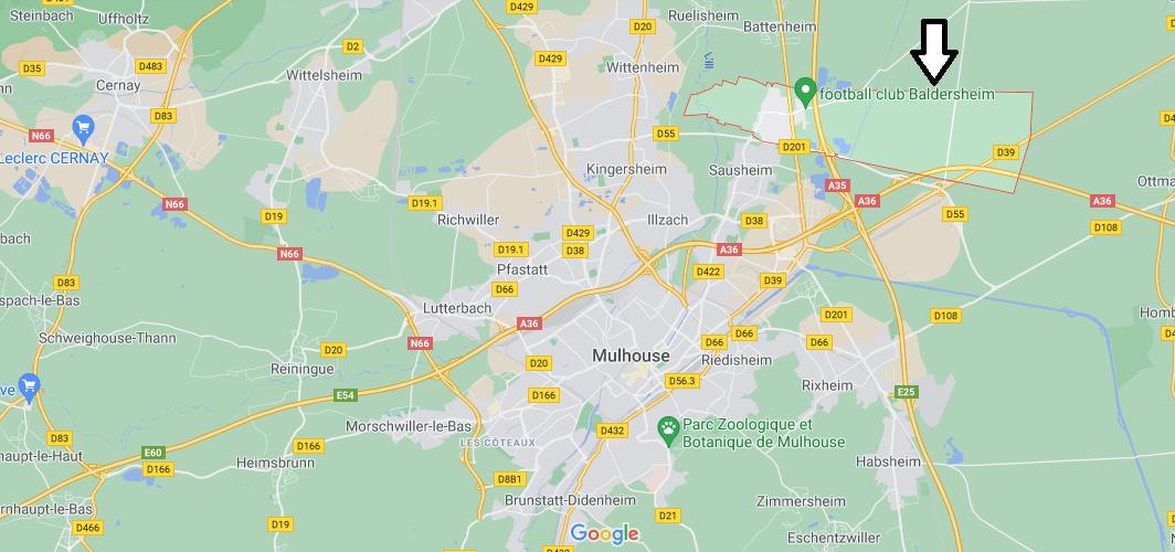 Dans quelle région se trouve Baldersheim