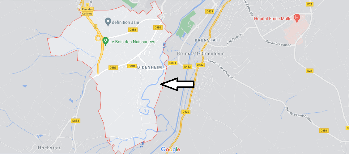 Dans quelle région se trouve Didenheim