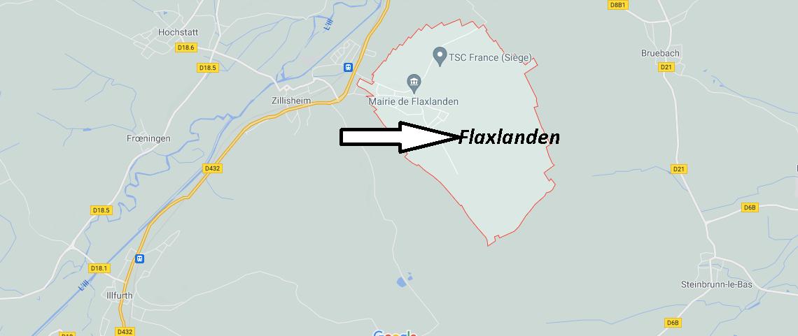Dans quelle région se trouve Flaxlanden