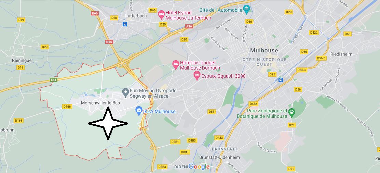Dans quelle région se trouve Morschwiller-le-Bas