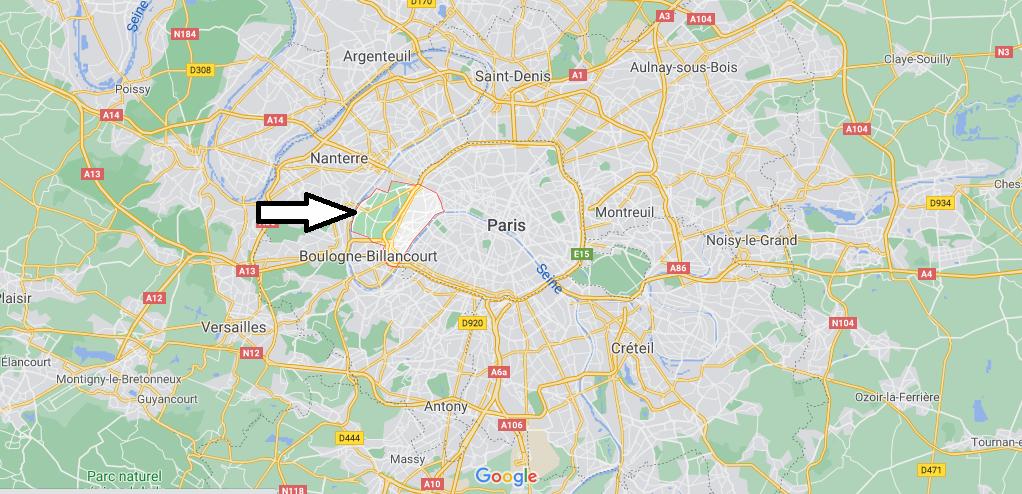 Dans quelle région se trouve Paris 16e Arrondissement