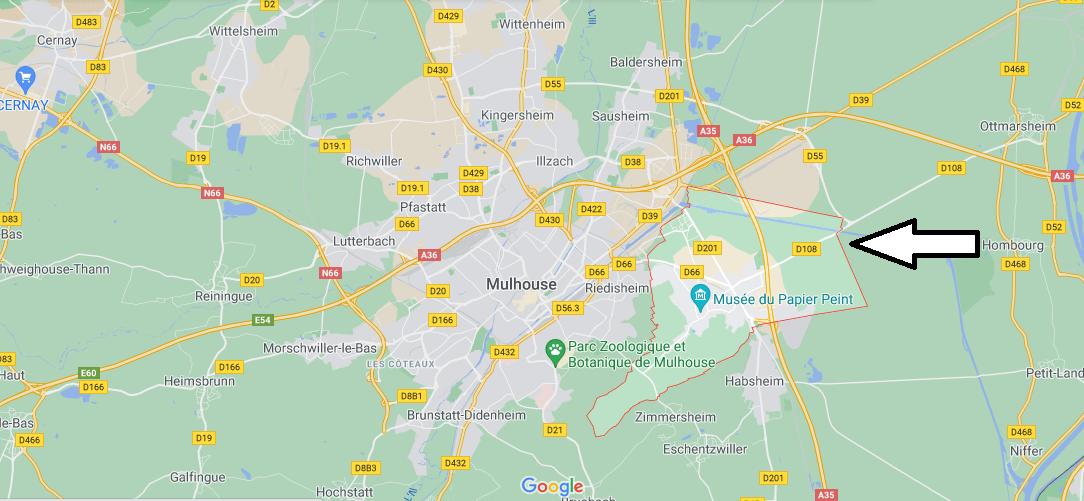Dans quelle région se trouve Rixheim
