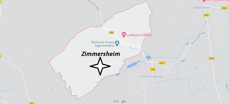 Dans quelle région se trouve Zimmersheim