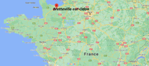 Où se situe Bretteville-sur-Odon (Code postal 14760)