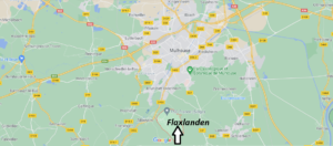 Où se situe Flaxlanden (Code postal 68720)