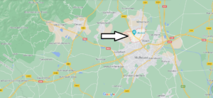 Où se situe Kingersheim (Code postal 68260)