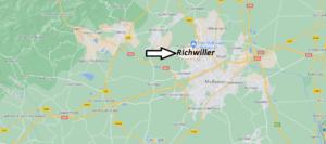 Où se situe Richwiller (Code postal 68120)