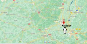 Où se situe Rixheim (Code postal 68170)