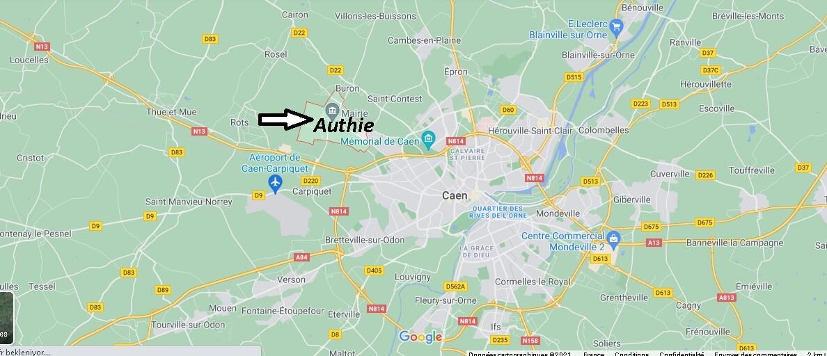 Où se trouve Authie