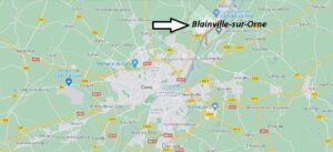 Où se trouve Blainville-sur-Orne