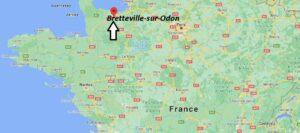 Où se trouve Bretteville-sur-Odon