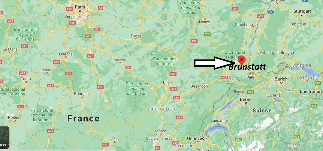 Où se trouve Brunstatt