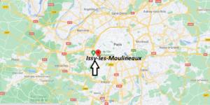 Où se trouve Issy-les-Moulineaux