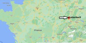 Où se trouve Lutterbach