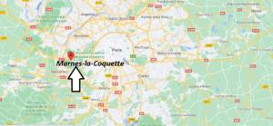 Où se trouve Marnes-la-Coquette