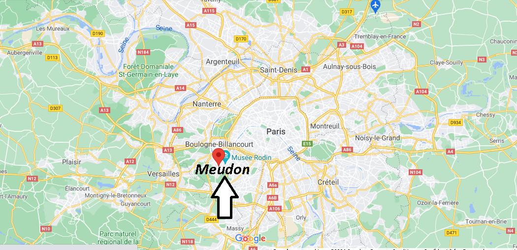 Où se trouve Meudon