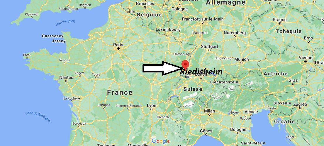 Où se trouve Riedisheim