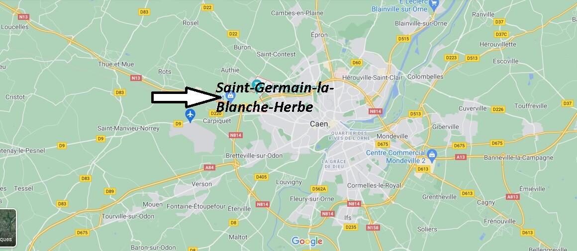 Où se trouve Saint-Germain-la-Blanche-Herbe