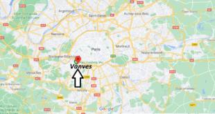 Où se trouve Vanves