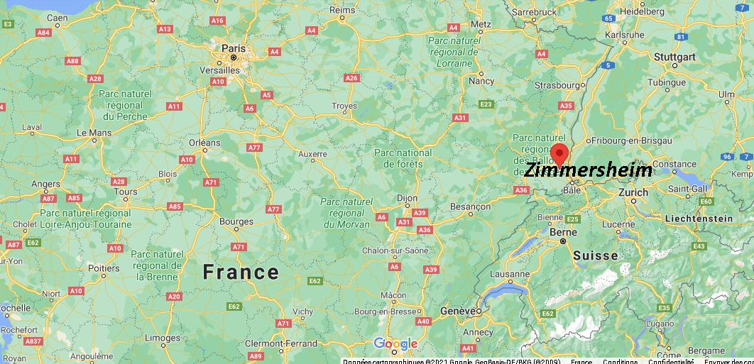 Où se trouve Zimmersheim