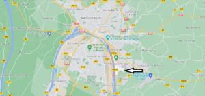 Carte Plan Amfreville-la-Mi-Voie