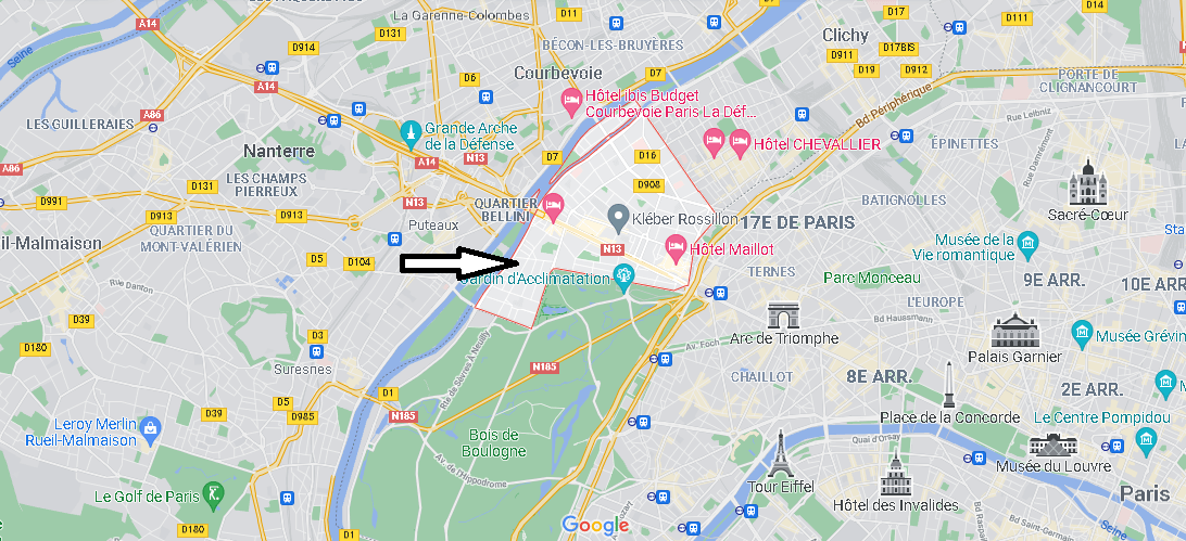 Dans quelle région se trouve Neuilly-sur-Seine