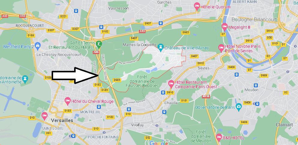 Dans quelle région se trouve Ville-d Avray