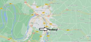 Où se situe Belbeuf (Code postal 76240)