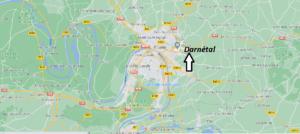 Où se situe Darnétal (Code postal 76160)