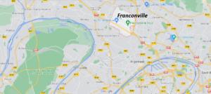 Où se situe Franconville (Code postal 95130)