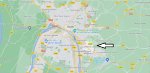 Où se situe Le Mesnil-Esnard (Code postal 76240)