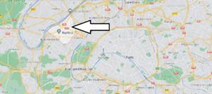 Où se situe Nanterre (Code postal 92000)
