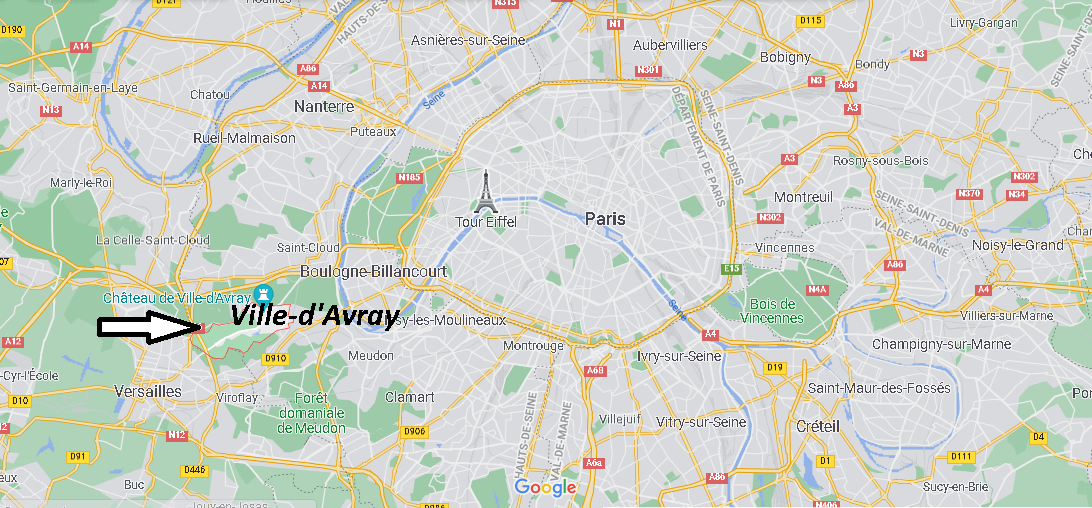 Où se situe Ville-d Avray (Code postal 92410)