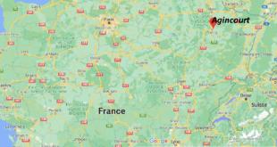 Où se trouve Agincourt