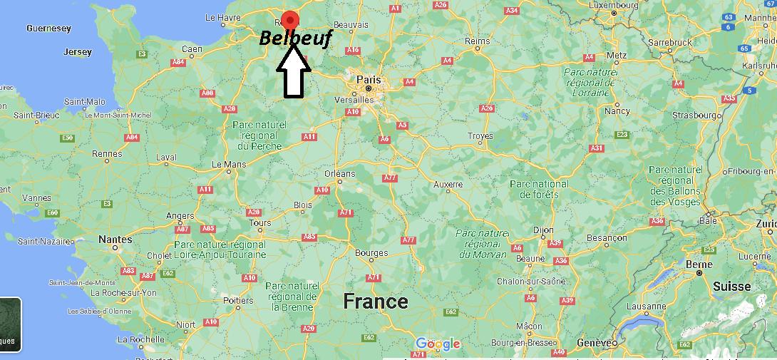 Où se trouve Belbeuf